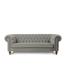 IMPERIAL İkili Gri Amerikan CHESTERFIELD'in resmi