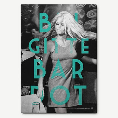 BRIGITTE BARDOT Retro Kanvas Tablo'in resmi