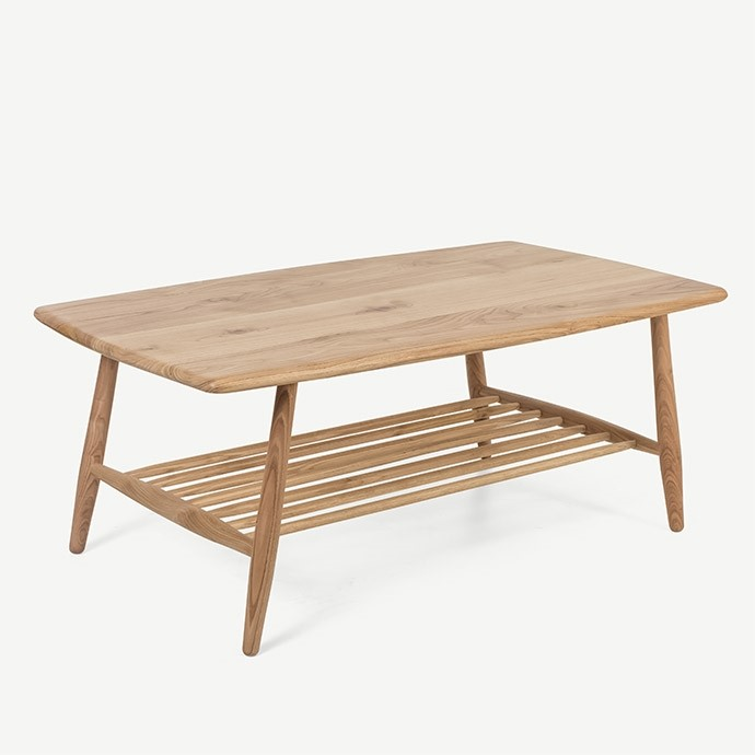 ERCOL COFFEE TABLE KESTANE ORTA SEHPA'in resmi
