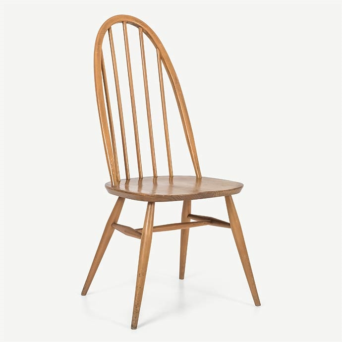 Ercol Vintage Windsor Chair'in resmi