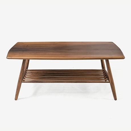 ERCOL COFFEE TABLE CEVİZ ORTA SEHPA'in resmi