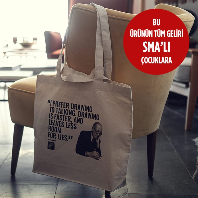 HAM BEZ TOTE BAG | LE CORBUSIER'in resmi